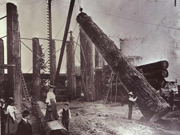 1904 Forestry Building construction