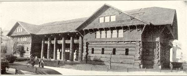 1907 Forestry Building exterior