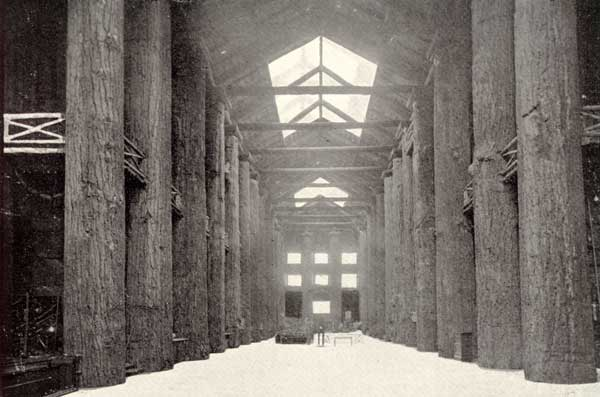 1907 Forestry building interior