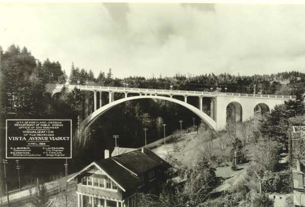 1922 Proposed Vista Bridge