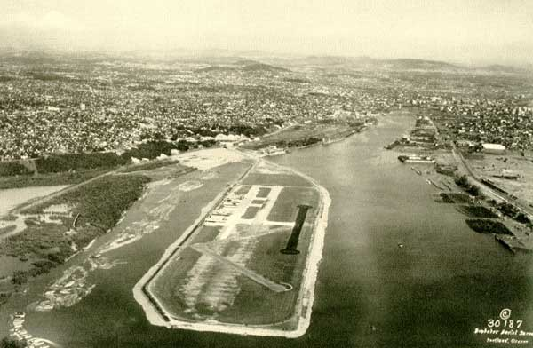 1929 Swan Island Airport (1929 Annual Message)