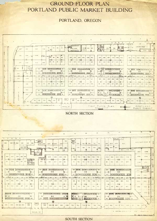 1933 Public Market ground floor plan