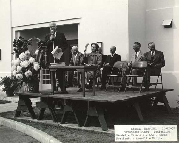 1952 Columbia Blvd. Wastewater plant dedication