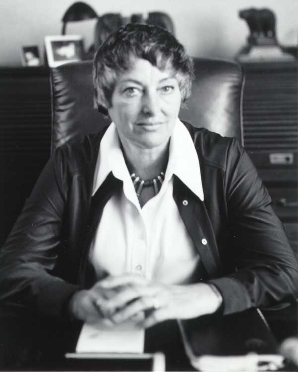 1980 Mayor Connie McCready