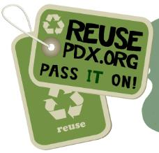 ReUse Week 2009 in Portland, Oregon, led by Commissioner Nick Fish, was a success.