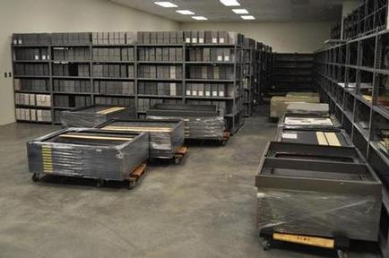 Map flat files in new building