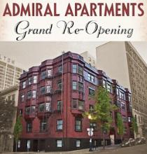 The Admiral apartments in downtown Portland