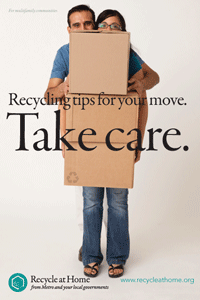 metro's recycling tips for your move