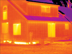 infared house